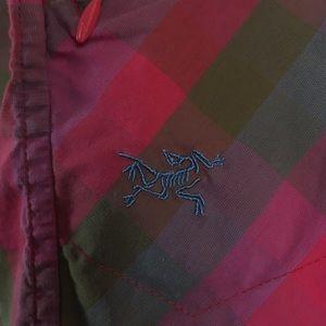 Arc'teryx Tops - Arcteryx Plaid Mirin Top